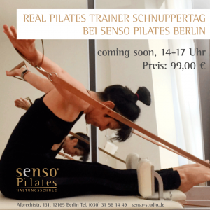 Real Pilates Trainer Schnuppertag