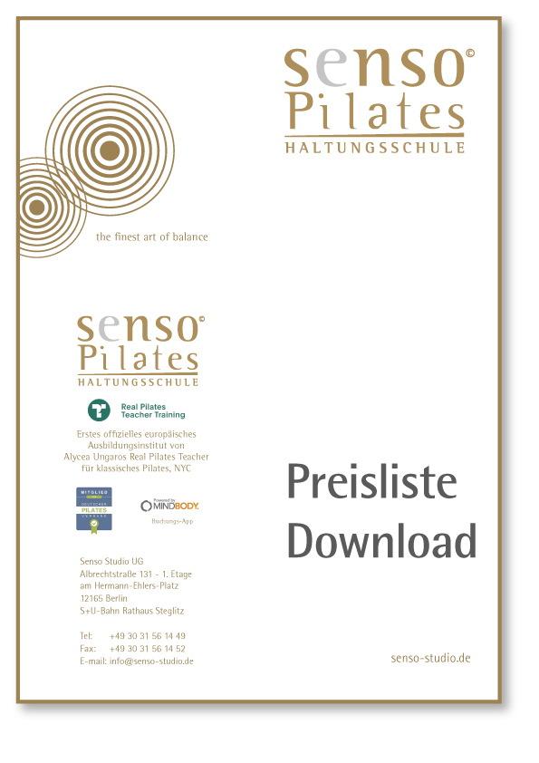 Download Senso Price list
